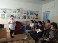 В КГП на ПХВ Тайыншинской ММБ проведён День открытых дверей под девизом — «Точно измеряйте своё кровяное давление, Контролируйте его, живите дольше»
