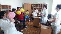 В КГП на ПХВ Тайыншинской ММБ проведён День открытых дверей — «Профилактика бронхиальной астмы» 26.05.2021 года