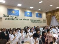 В Тайыншинской ММБ проведено торжественное собрание, посвященное Дню Независимости Республики Казахстан!
